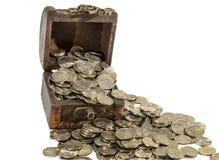 Пенни монетки 1 денег Стоковая Фотография