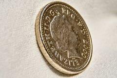 пенни монетки 5 Стоковая Фотография