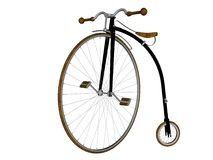 пенни farthing велосипеда Стоковое Изображение RF