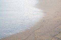 Пенообразный брызгать волны Стоковые Изображения RF