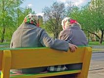 пенсионеры Стоковое фото RF