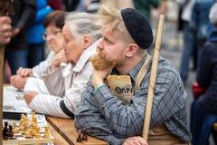 пенсионеры стоковая фотография rf