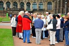 пенсионеры galleryallery dresden стоковые фото