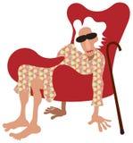 пенсионер ослабляет Стоковые Фотографии RF