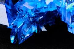 Пентагидрат сульфата меди Стоковое Фото
