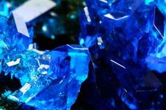 Пентагидрат сульфата меди Стоковое Изображение