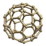 пентагон шестиугольника рамки шарика Стоковое Изображение