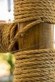 Пенька rope Стоковые Изображения