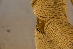 Пенька rope Стоковые Изображения RF