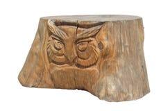 Пень дерева стилизованный как скульптура стоковые изображения