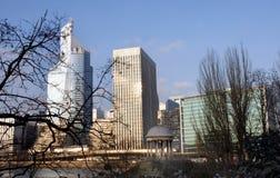 Первая башня в обороне Ла в Париже Стоковое Изображение