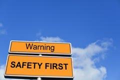 первая безопасность Стоковое Изображение RF