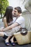 первая влюбленность Стоковое Изображение RF
