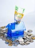 Первая ипотека домашних сбережений Стоковые Изображения