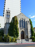 Первая объединенная методист церковь в Reno, Неваде Стоковое фото RF