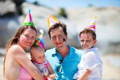 первая партия дня рождения Стоковая Фотография