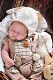 Первая пасха ребёнка Стоковое фото RF