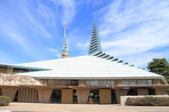 Фрэнк Ллойд Райт: Церковь в Фениксе Стоковая Фотография RF