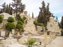 Первое афинское кладбище Стоковое Изображение