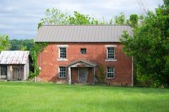 Первое здание суда Pulaski County - Newbern, Вирджиния, США Стоковая Фотография RF