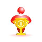 Первое место. Социальная икона людей Стоковая Фотография