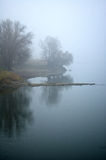 первое река заморозка Стоковые Изображения RF