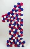 Первое число искусственных цветков стоковое изображение rf