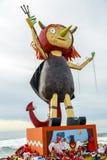 Первое Demonieta праздников в мае в Бадалонае Стоковое фото RF