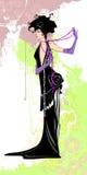 первоклассная женщина Стоковая Фотография RF
