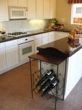 первоклассная чистая кухня Стоковое фото RF