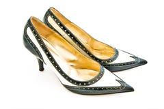 первоклассные ботинки Стоковое Изображение