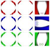первоклассный шикарный шаблон комплекта типичный Стоковые Фото