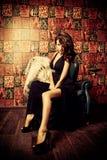 первоклассная женщина стоковое фото