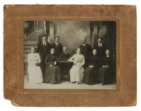 Первоначально античное фото взрослого 10 Стоковое Фото