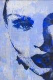 Первоначально картина маслом иллюстрация штока