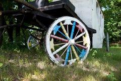 Первоначально добившийся успеха своими силами колесо для тележки Стоковая Фотография RF