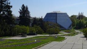Первоначально парник для тропических заводов в ботаническом саде, Стоковое фото RF
