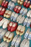 Первоначально ручной работы деревянные ботинки, Нидерланды стоковое изображение rf