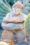 Первоначально скульптура в саде Стоковое Изображение