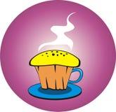 Первоначально торт чашки сделанный от чашки Стоковое фото RF