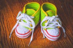 Первые ботинки Стоковые Фотографии RF