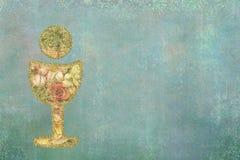 Первые карточки приглашений святого причастия Стоковые Изображения RF