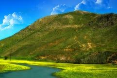 Первые дни весеннего времени на восточной Анатолии, Турция Стоковые Фотографии RF