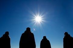 Первые статуи экспедиции северного полюса в Осло Стоковое фото RF