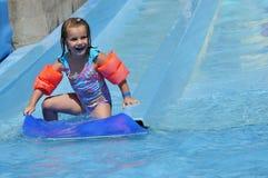 первый заниматься серфингом paula s стоковое фото