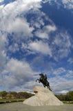 первый памятник peter Стоковое Фото
