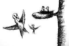 первый полет иллюстрация штока