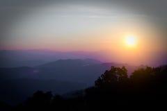 Первый свет дня Стоковое Изображение RF