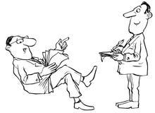 первый секретарь Бесплатная Иллюстрация