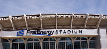 Первый стадион энергии Стоковое Изображение RF